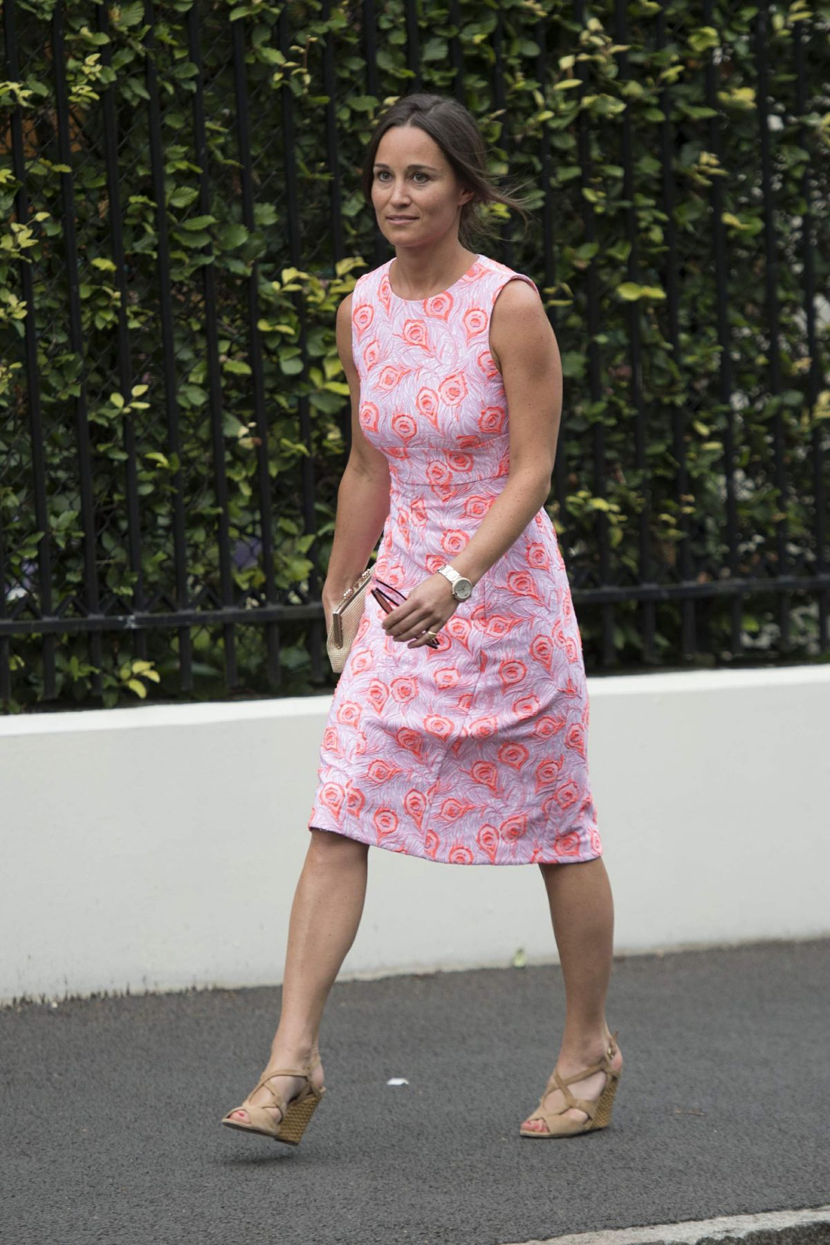 PIPPA MIDDLETON at Wimbledon Tennis Championships in London 07/06/2016