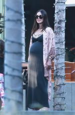 Pregnant MEGAN FOX Out and About in Beverly Hills07/08/2016