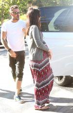 Pregnant MEGAN FOX Out in Malibu 07/04/2016