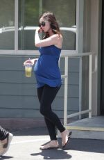 Pregnat MEGAN FOX Out and About in Studio City 07/01/2016