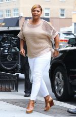 QUEEN LATIFAH Out and About in New York 07/06/2016