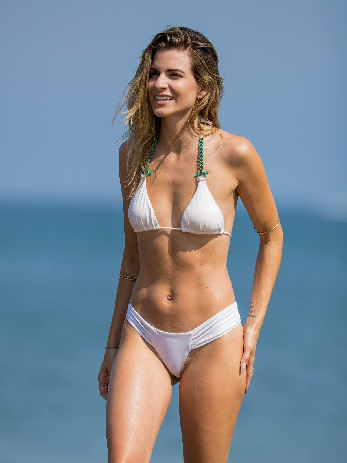 rachel mccord in bikini at a beach in malibu 07 30 2016