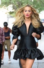 RITA ORA Out and About in New York 04/24/2016