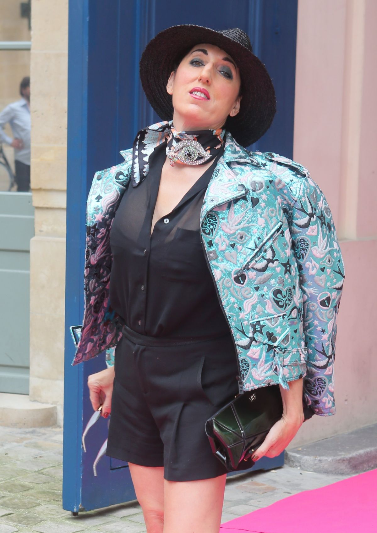 ROSSY DE PALMA at Schiaparelli Haute-couture Fashion Show in Paris 07/04/2016