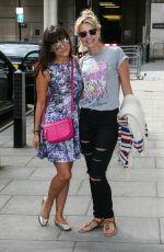 ROXANNE PALLETT and CARLEY STENSON at BBC Studios in London 07/09/2016