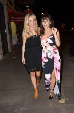 ROXANNE PALLETT and CARLEY STENSON Leaves Park Theatre in London 07/27/2016