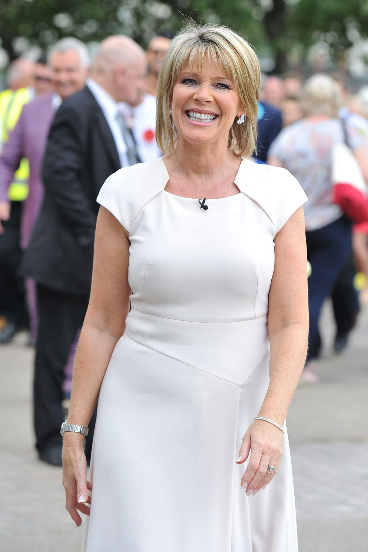 RUTH LANGSFORD at This Morning Show in London 07/25/2016