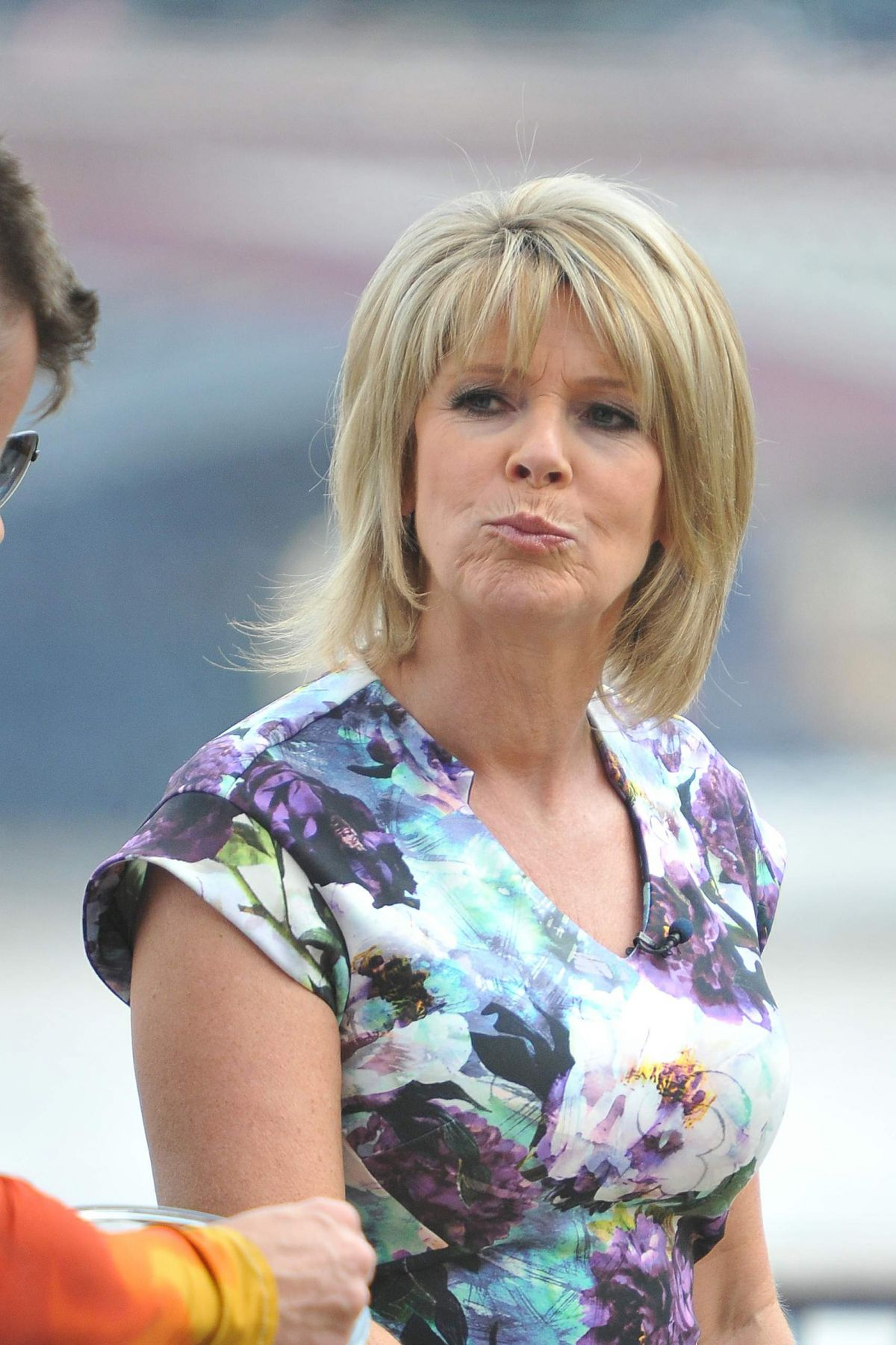 Ruth Langsford On The Set F This Morning Show In London 07