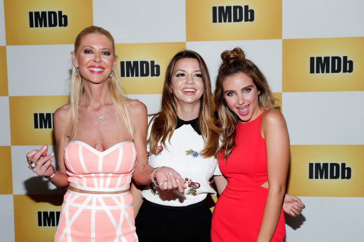 RYAN NEWMAN, MASIELA LUSHA and TARA REID at imdb Yacht at Comic-con in San Diego 07/22/2016