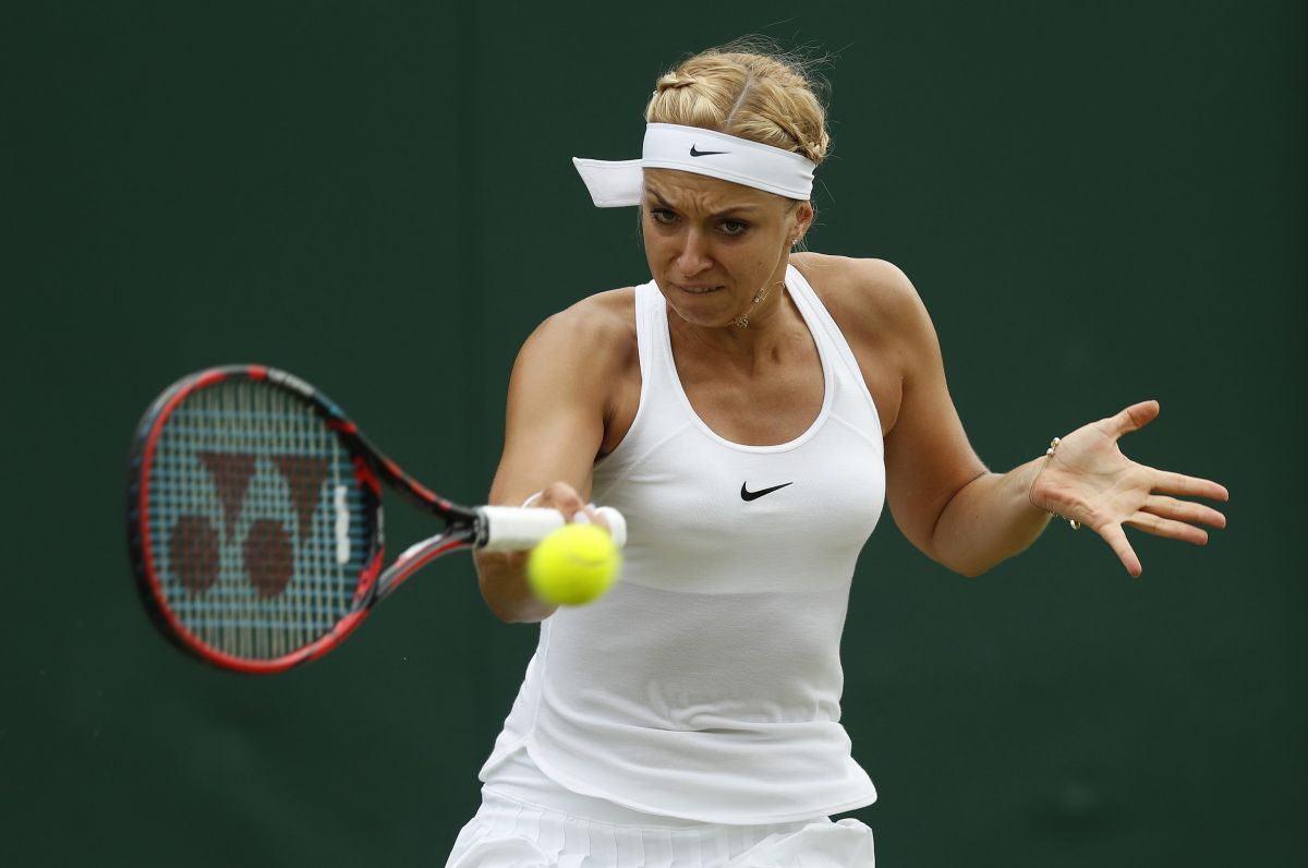 SABINE LISICKI at 2nd Tound of Wimbledon Tennis Championships in London 06/30/2016