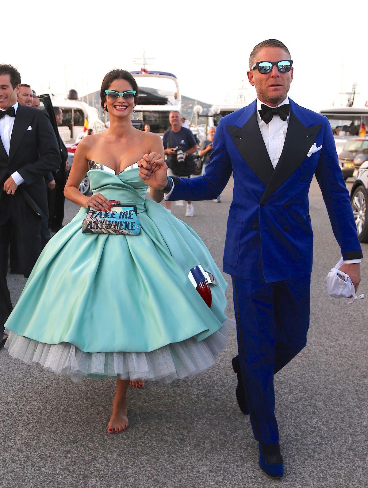SHERMINE SHAHRIVAR at 3rd Annual Leonardo DiCaprio Foundation Gala in St Tropez 07/20/2016