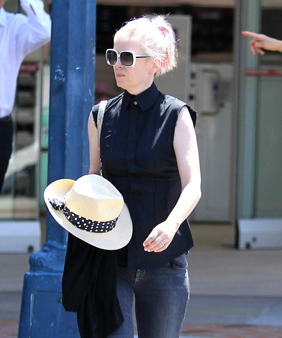 SHIRLEY MANSON Out and About in Beverly Hills 06/30/2016