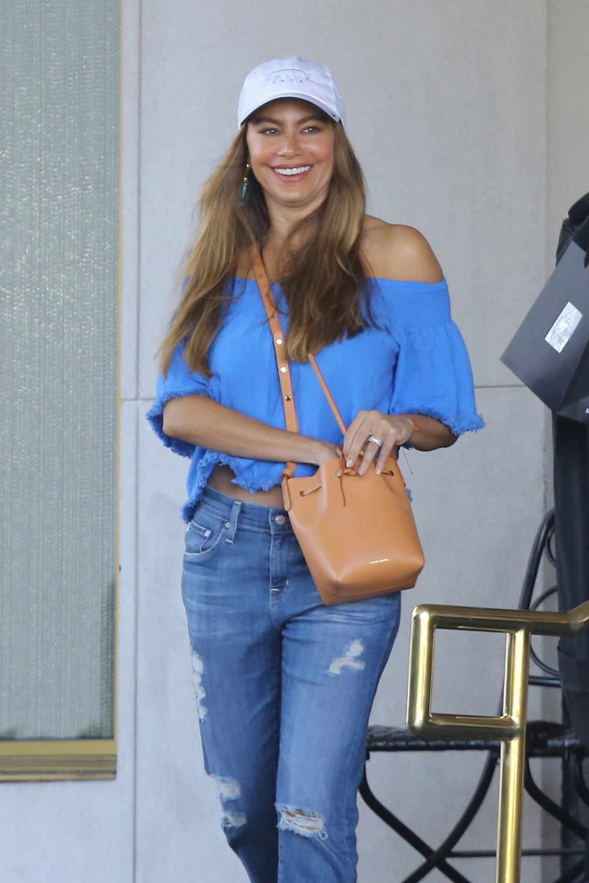 SOFIA VERGARA at Saks Fifth Avenue in Beverly Hills 07/06/2016 ...