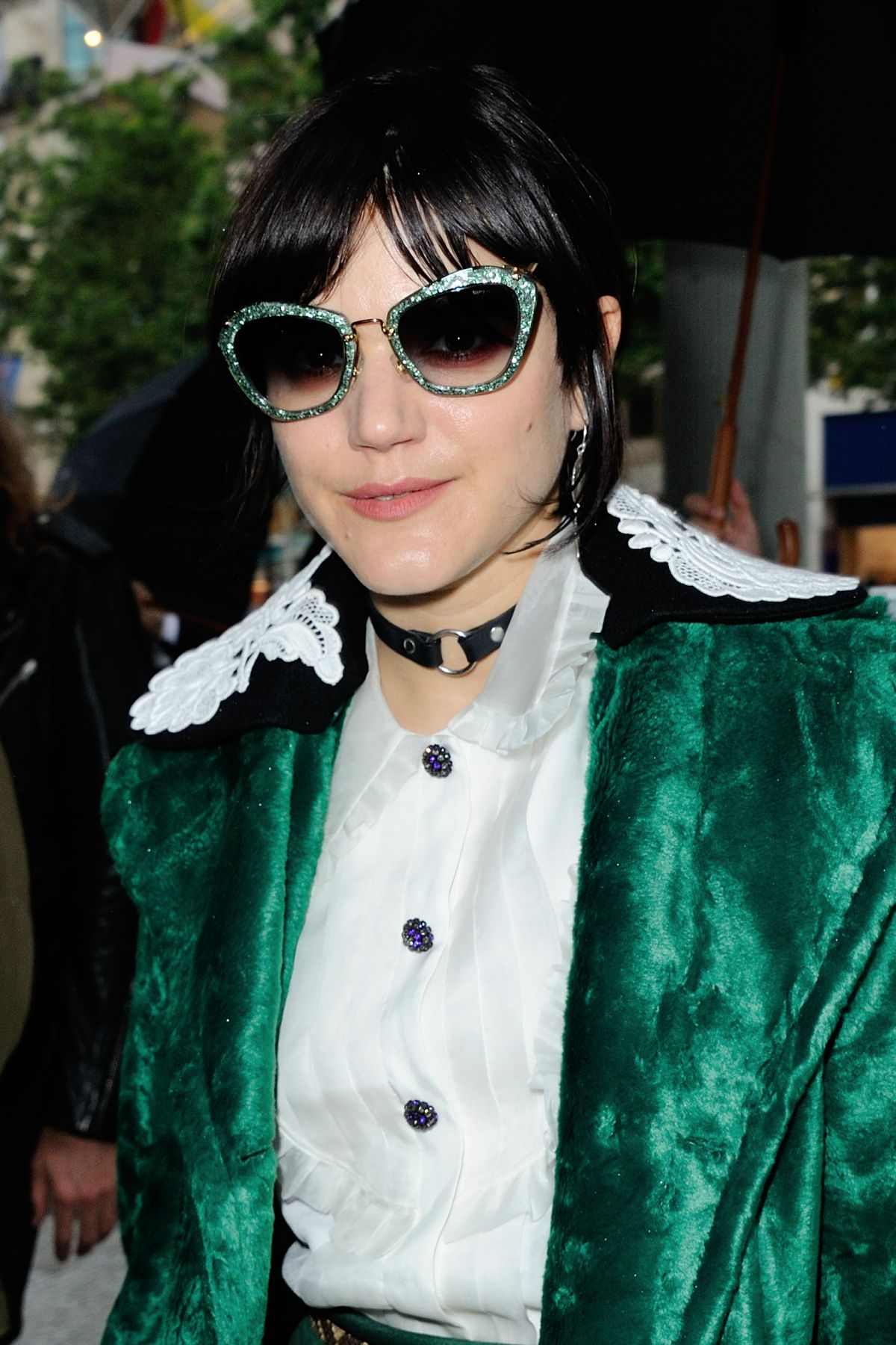 SOKO at Miu Miu Club and Croisiere 2017 Collection ...