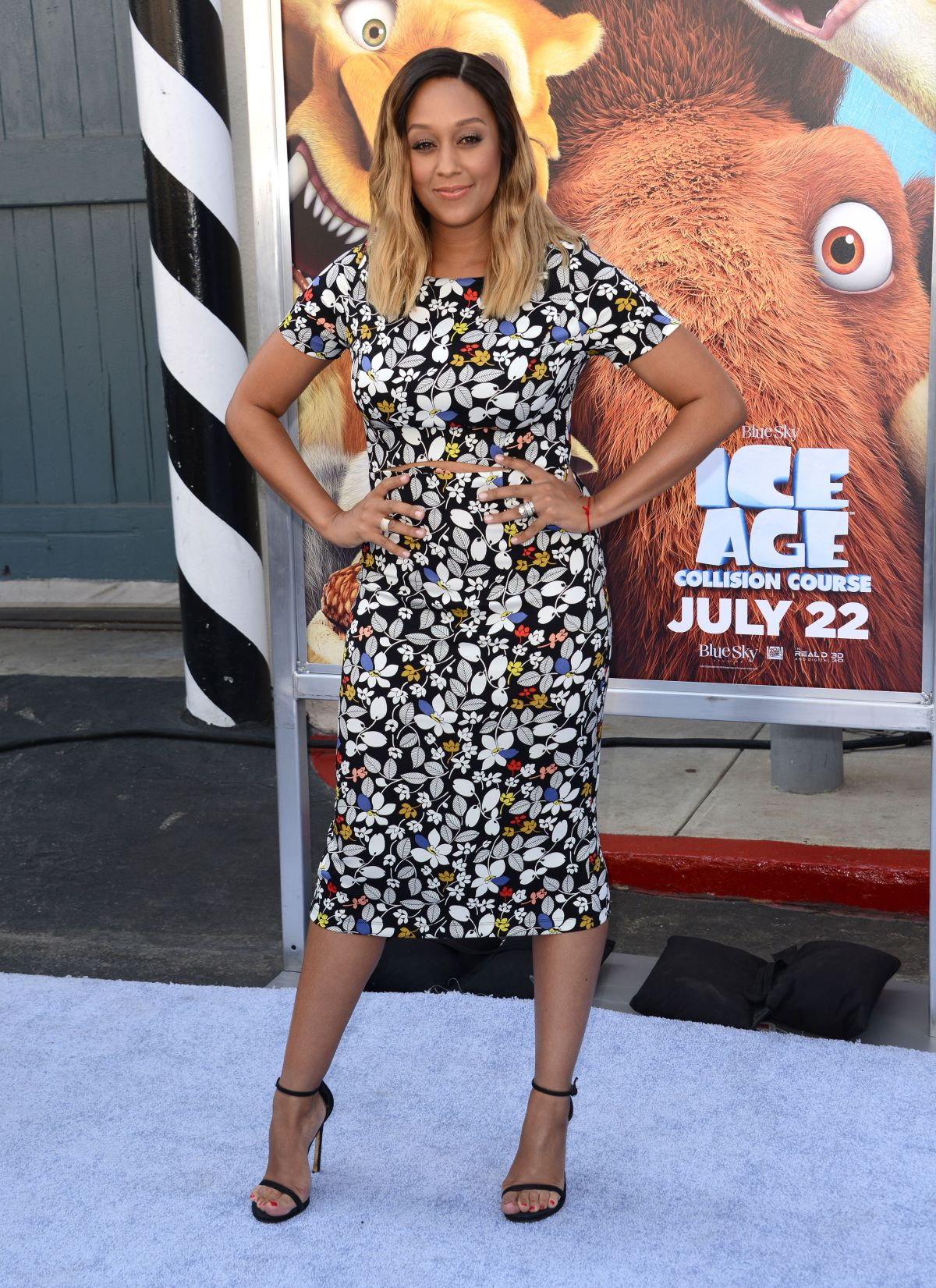TIA MOWRY at 'Ice Age: Collision Course' Premieee in Los Angeles 07/16/2016