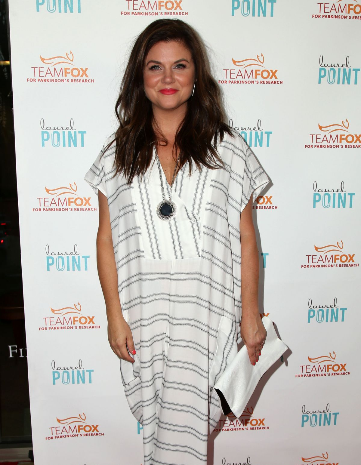 TIFFANI THIESSEN at Raising the Bar to End Parkinson's Event in Studio City 07/27/2016