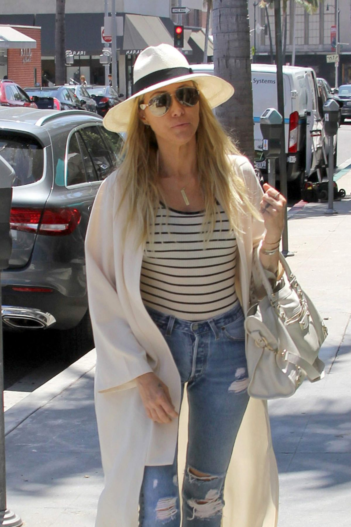 Tish Cyrus Out And About In Camden 07 25 2016 Hawtcelebs