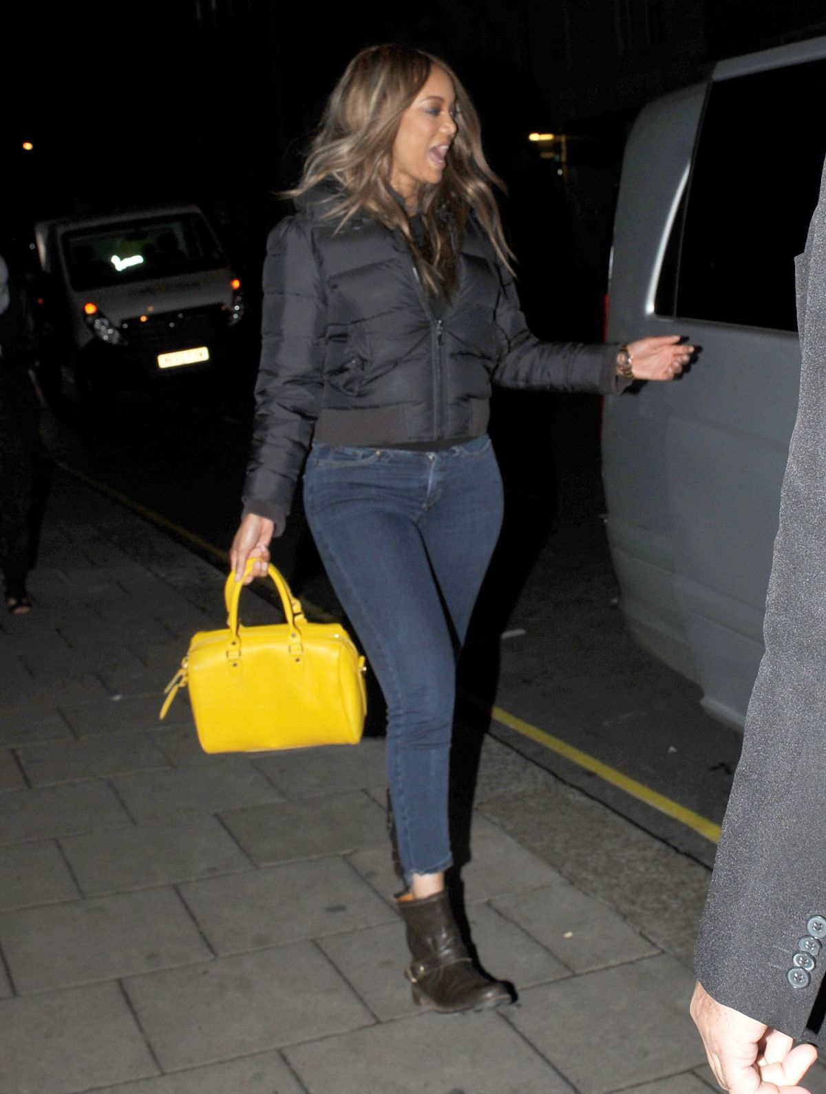 TYRA BANKS Night Out in London 06/28/2016
