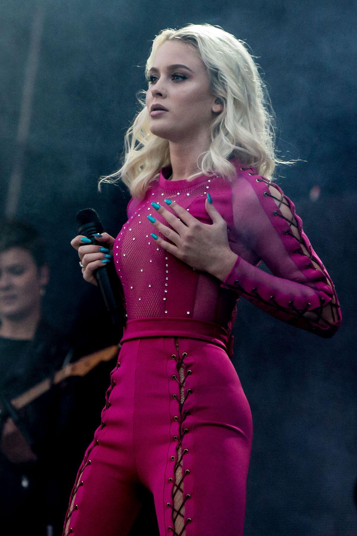 Zara Larsson Performs At Bravella Festival In Sweden 06302016  Hawtcelebs-3336