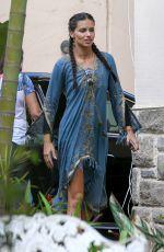 ADRIANA LIMA Out in Rio De Janeiro 08/04/2016