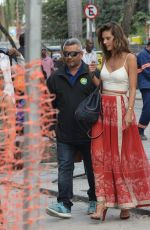 ALESSANDRA AMBROSIO and ADRIANA LIMA at Confeitaria Colombo in Rio De Janeiro 08/03/2016