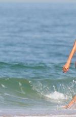 ALESSANDRA AMBROSIO in Bikini on the Beach in Rio 08/06/2016