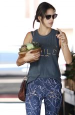 ALESSANDRA AMBROSIO Out in Brentwood 08/25/2016