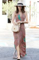 ALESSANDRA AMBROSIO Out and About in Brentwood 08/29/2016