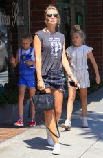 ALEX CURRAN at a Nail Salon in Beverly Hills 08/03/2016