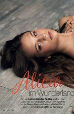 ALICIA VIKANDER in Jolie Magazine, Germany September 2016 Issue