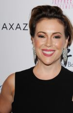 ALYSSA MILANO at Make A Wish Greater Los Angeles Fashion Fundraiser in Hollywood 08/24/2016