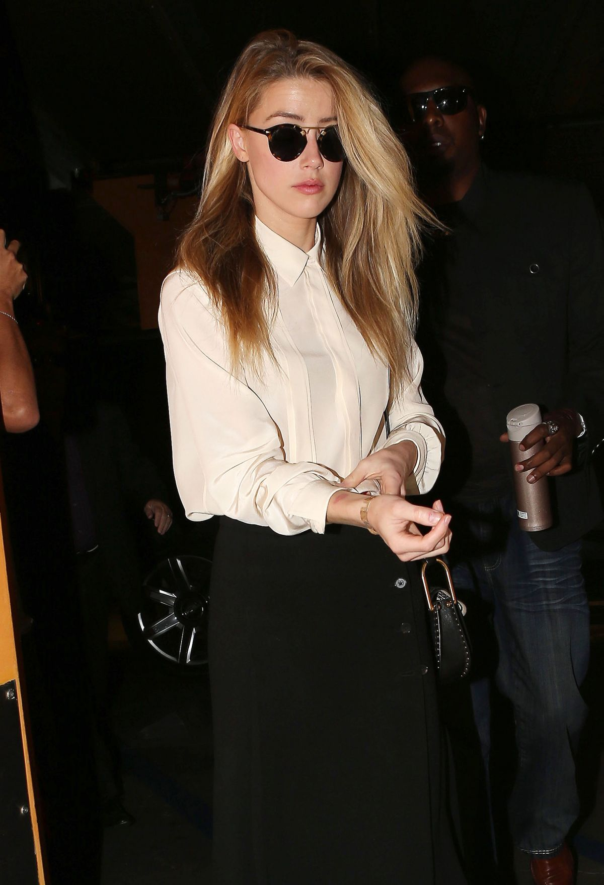 AMBER HEARD Arrives at Court in Century City for Divorce Proceedings to Johnny Depp 08/06/2016