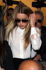 AMBER HEARD Arrives at Court in Los Angeles 08/13/2016