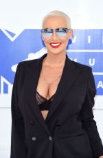 AMBER ROSE at 2016 MTV Video Music Awards in New York 08/28/2016
