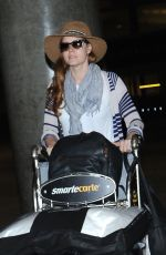 AMY ADAMS at LAX Airport in Los Angeles 08/09/2016