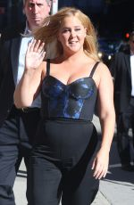 AMY SCHUMER at Late Show in New York 08/22/2016