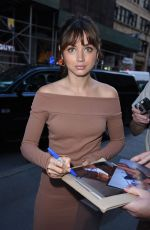 ANA DE ARMAS Arrives at Today Show in New York 08/21/2016