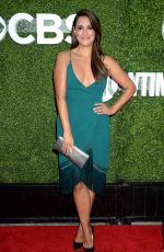 ANGELIQUE CABRAL at CBS, CW and Showtime 2016 TCA Summer Press Tour Party in Westwood 08/10/2016