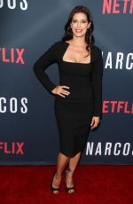 ANGIE CEPEDA at 'Narcos' Season 2 Premiere in Hollywood 08/24/2016