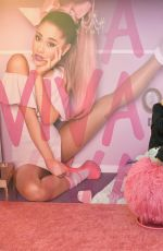 ARIANA GRANDE at Viva Glam Press Day in West Hollywood 08/22/2016
