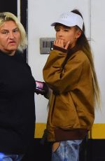 ARIANA GRANDE Out and About in New York 08/27/2016