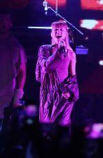 ARIANA GRANDE Performs at Billboard Hot 100 Music Festival 08/20/2016