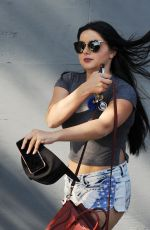 ARIEL WINTER in Cut Off Out in West Hollywood 08/11/2016