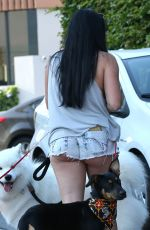 ARIEL WINTER Out and About in West Hollywood 08/29/2016