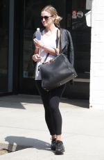ASHLEE SIMPSON Out and About in Studio City 08/05/2016