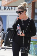 ASHLEY BENSON Out Shopping in West Hollywood 08/30/2016
