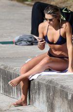 ASHLEY HART in Bikini at Bondi Beach in Sydney 08/15/2016