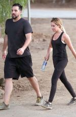 ASHLEY TISDALE Out Hiking in Hollywood 08/23/2016