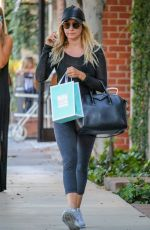 ASHLEY TISDALE Out Shoping in West Hollywood 08/10/2016