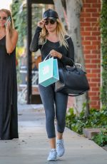 ASHLEY TISDALE Shopping at Kate Spade New York in Los Angeles 08/10/2016